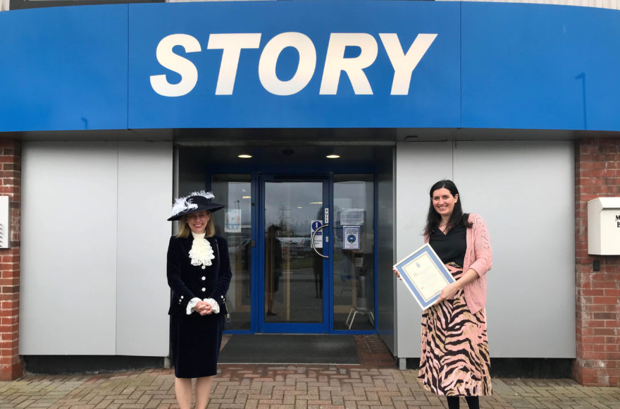Story Contracting named 'Community-Spirited Business' in Cumbrian Covid-19 Awards