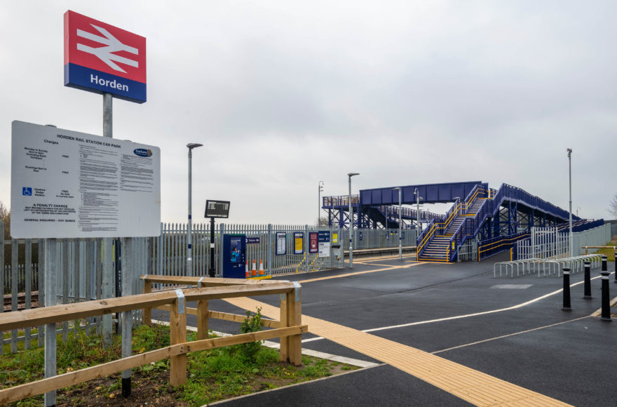 Horden Station recognised in ICE North East RSA Awards