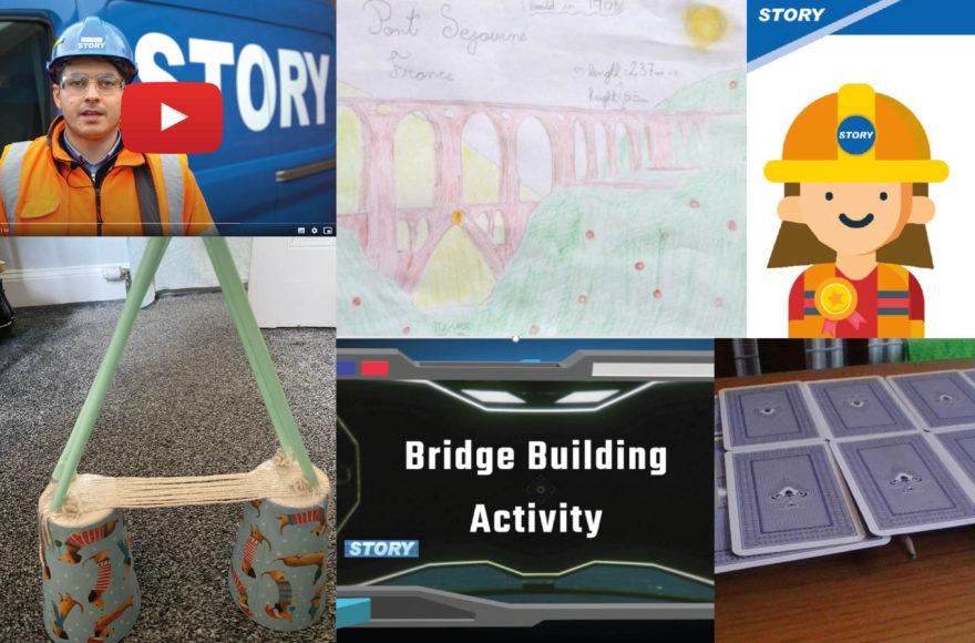 Story Scotland inspire next generation of civil engineers through virtual STEM sessions