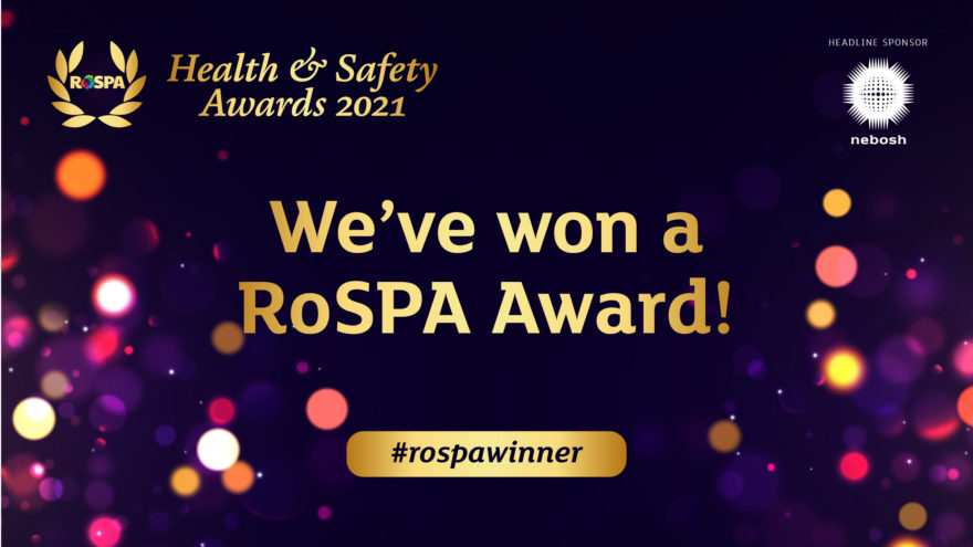Story Contracting wins RoSPA Gold Award fifth year running