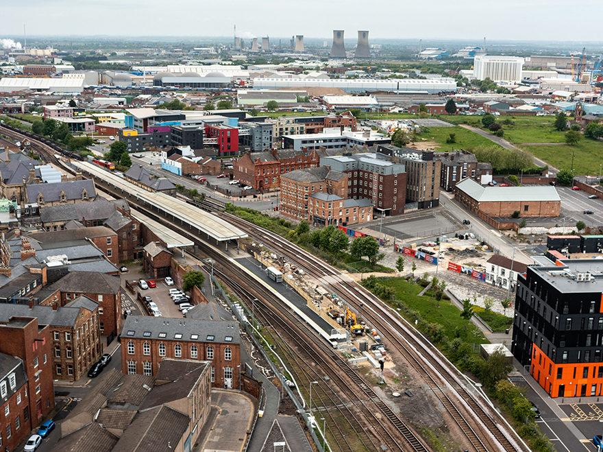 Platform extension completed at Middlesbrough Station