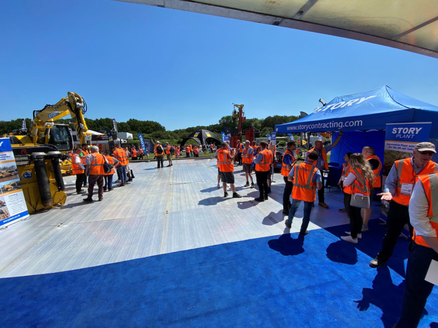 The largest outdoor rail show in Europe, Rail Live has finally arrived!