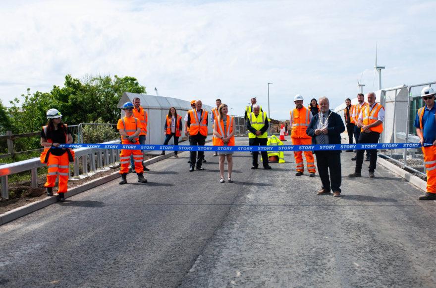 Siddick Overbridge successfully opened