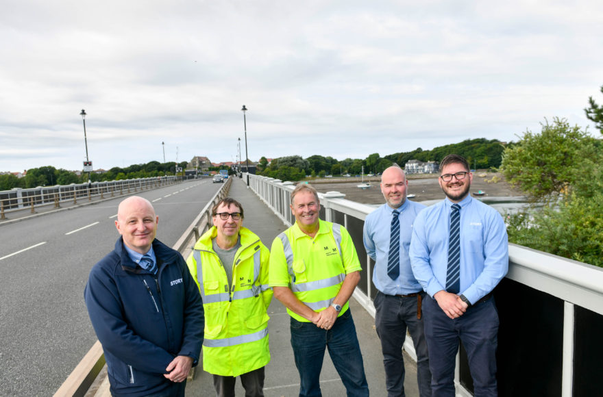 Jubilee Bridge maintenance works successfully completed