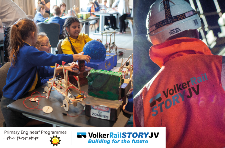 VolkerRailStory Joint Venture partner with Primary Engineer to inspire young engineers across Derbyshire and South Yorkshire